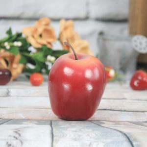 7.1X6.8Cm Artificial/Decorative Simulation Fruits Medium Red Delicious Apple