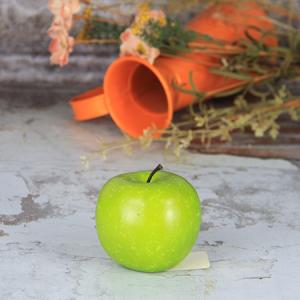 6.5X7.5Cm Artificial/Decorative Simulation Fruits Medium Fuji Green Apple