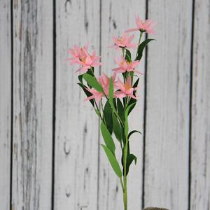 43cm Artificial/Decorative Wild Flower Rainflower