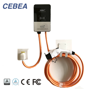 SAE J1772 IEC 62196 Wall mounted EV charger Wall box EV charging
