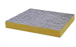 Safe Aluminum foil glass wool felt