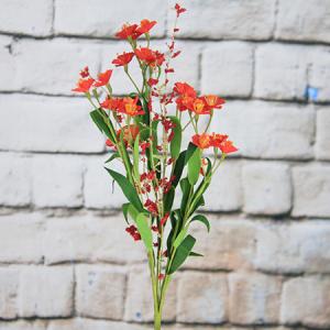 44cm Artificial/Decorative Wild Flower with Plum Bossom and Gypsophila
