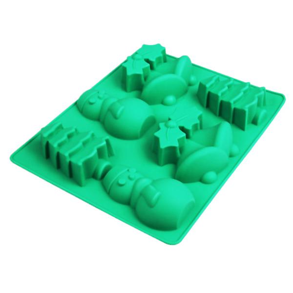 Christmas silicone cake mold