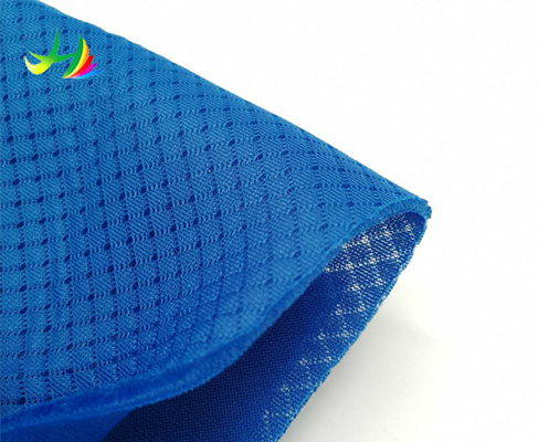 100 polyester shoes material elastic mesh fabric high quality