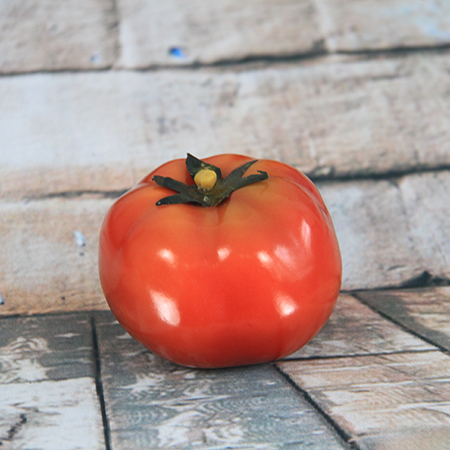 6.4x7.9cm Artificial/Decorative Simulation Vegetable Red Tomato
