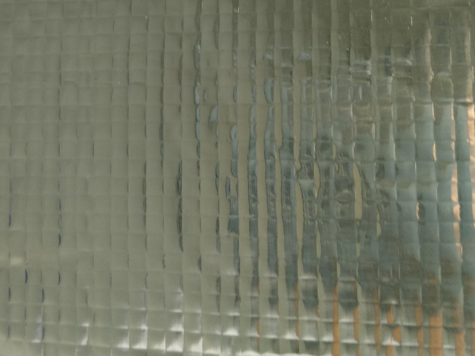 Lightweight custom aluminum foil veneer