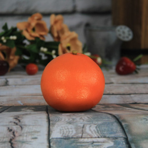 7.7X8Cm Artificial/Decorative Simulation Fruits Big Round Orange
