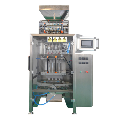 Multi lane sugar packaging machine