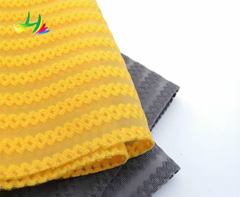 100 percent polyester knit elastic fabric 3d net air mesh for China suppliers