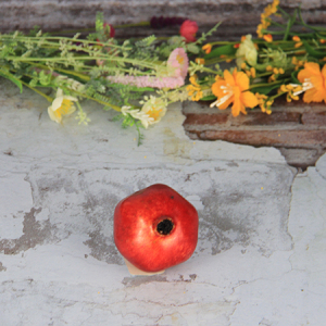 8.6X7.2Cm Artificial/Decorative Simulation Fruits Medium Red Pomegranate