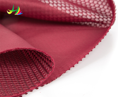 sandwich mesh , 3D spacer polyester air mesh fabric ,eyelet fabric