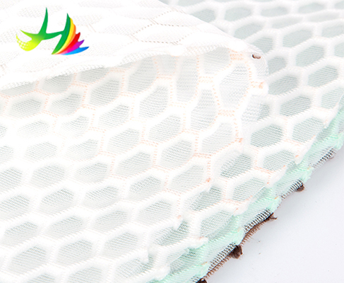breathable air mesh fabric for luggage,100% recyclable,healthy ecological stiff mesh fabric