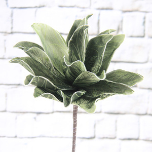 77Cm Artificial Decorative Printed Foam Flower Echeveria