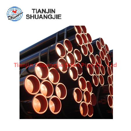 ASTM A252 ERW black carbon steel pipe