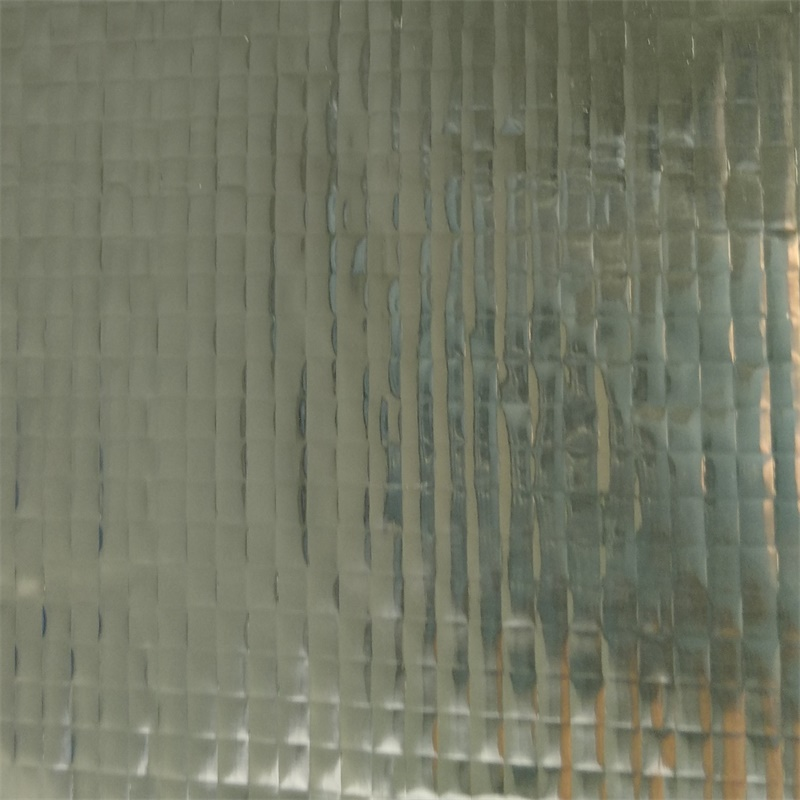 single side aluminum foil woven