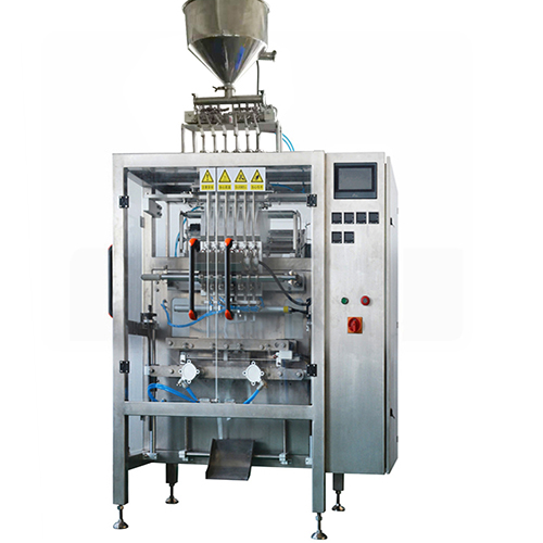 6 lane packaging machine for ketchup