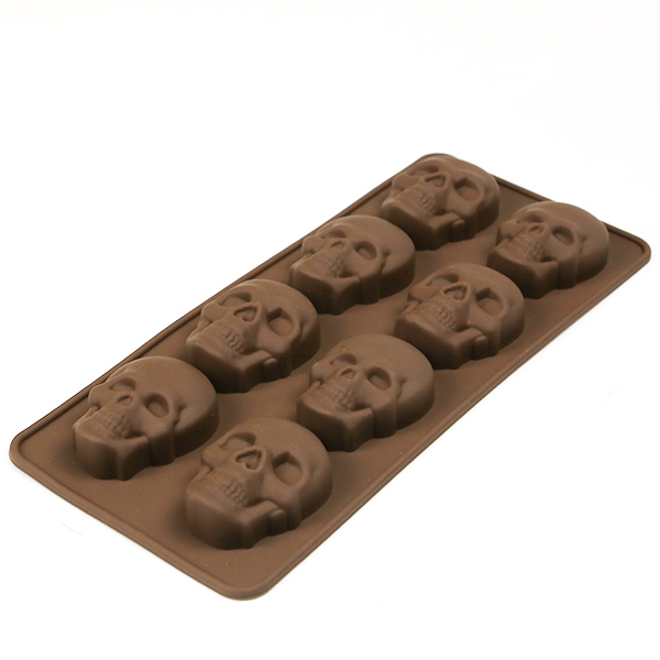 8-cups silicone mold for Easter