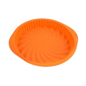 Silicone round cake pan