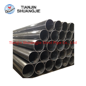 API 5L ERW black carbon steel pipe