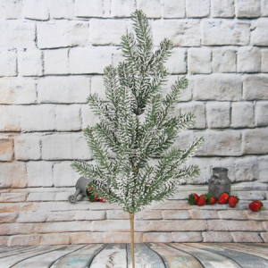 81Cm Artificial Decorative Christmas Spray With Glitter