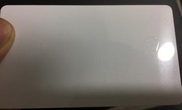PA card with keystone