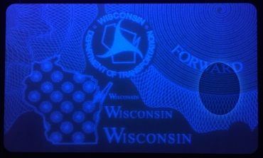 WI card with UV