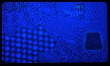 NY  Front card with UV