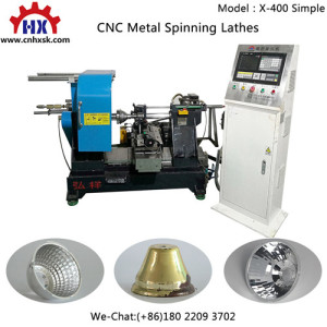 Ceiling Lamp CNC Spinning Machines for Lighting Fitting Iron Lamp Shade Product