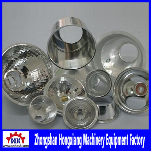 Precision CNC Spinning Machinery for Led Light Cup Lamp Shade Sheet Metal Fabricator Lighting Housing