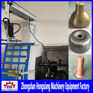 Fully Automatic CNC Metal Spinning Machine for Stainless Steel Handle Part