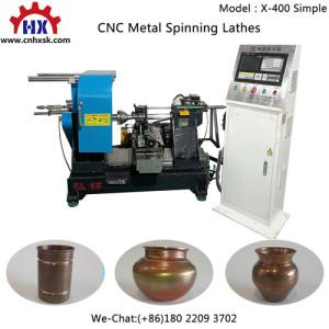High Speed Series Cnc Metal Lamp Shape Spinning Machine