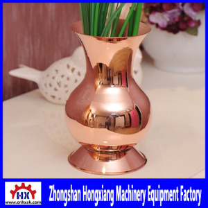 Automatic cnc Metal Spinning Machine Lathe with Tailstock for Handmade Solid Copper Vase