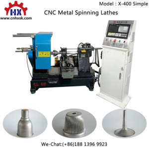 Copper Brass Musical Instrument Trumpet CNC Metal Spinning Processing Forming Machines Lathe