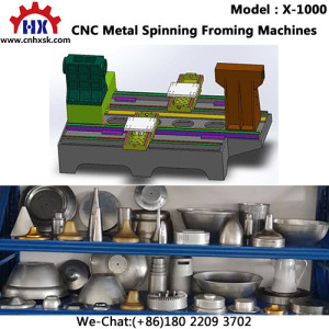 Customized Fabrication Factory OEM Forced Stainless Steel Spinning Processing Equipment