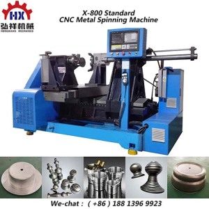 Full Function cc Metal Spinning and Bending Machine for 201 Stainless Steel Kitchen Spinning