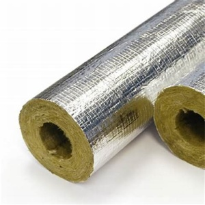 rock wool pipe with foil aluminum
