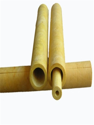 Excellent fireproof fiber glass cloth glass wool pipe fabric with glasswool tube