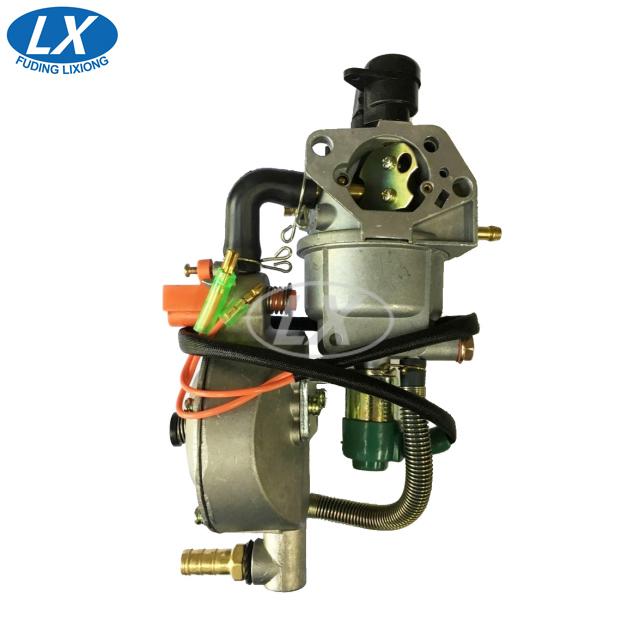 LPG CNG Автоматический дроссель GX390 / GX420 Генератор 5 ~ 6,5 кВт карбюратор