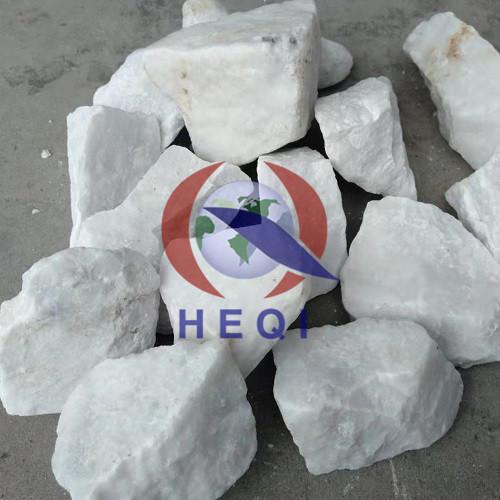 Características de la materia prima mineral de magnesita