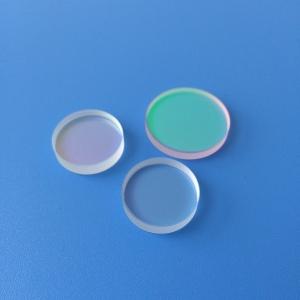 Sapphire okrągłe szkło ochronne okno optyczne nadaje się do aplikacji wysokiego ciśnienia i wysokiej mocy
