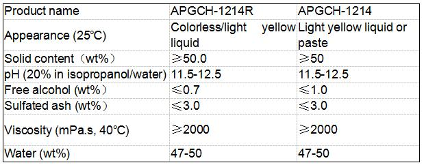 Alkyl polyglucoside / APG CAS NO.110615-47-9 for Oil Exploration As Excellent Foaming Agent