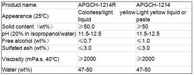 Αλκυλο πολυγλυκοζίτη / APG CAS Νο. 110615-47-9 για καθαριστικό επίπλων