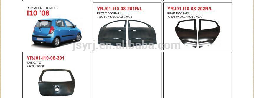 Front Door for Hyundai I10 08