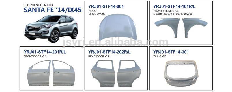 Front Door for Hyundai Santa Fe 14/IX45