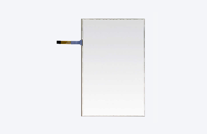 "21.5"" 5-Wire Resistive Screen, Zero-Bezel"