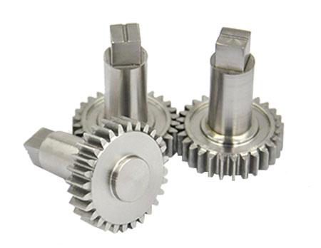 straight gear machining