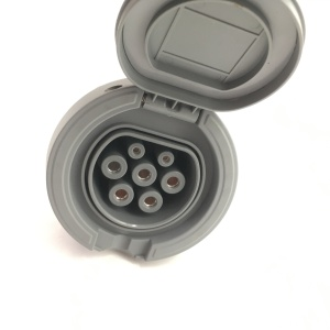 IEC 62196-2 EV charging socket 1-phase 3-phase 16A/32A