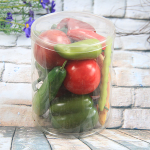 Artificial Decorative Vegetable Gift Box Tomato/peper/potato/cucumber/chilli/bean