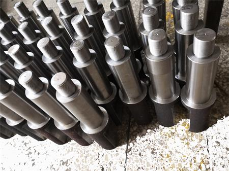 Machining shaft for agricultural equipment