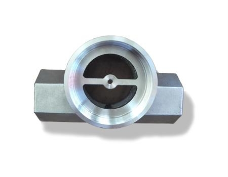 Precision machining steel casting pipe parts